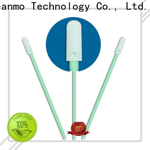 good quality cleanroom polyester swabs flexible paddle manufacturer for printers