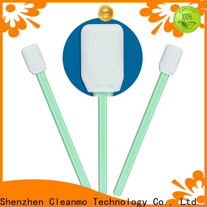 Cleanmo excellent chemical resistance sensor swab full frame supplier for excess materials cleaning