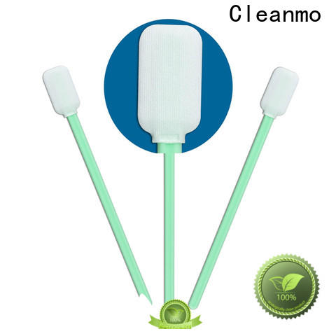 Cleanmo high quality electronics cleaning swab manufacturer for general purpose cleaning
