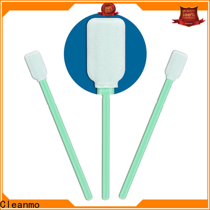 ESD-safe micro cotton swabs Polypropylene handle factory price for Micro-mechanical cleaning