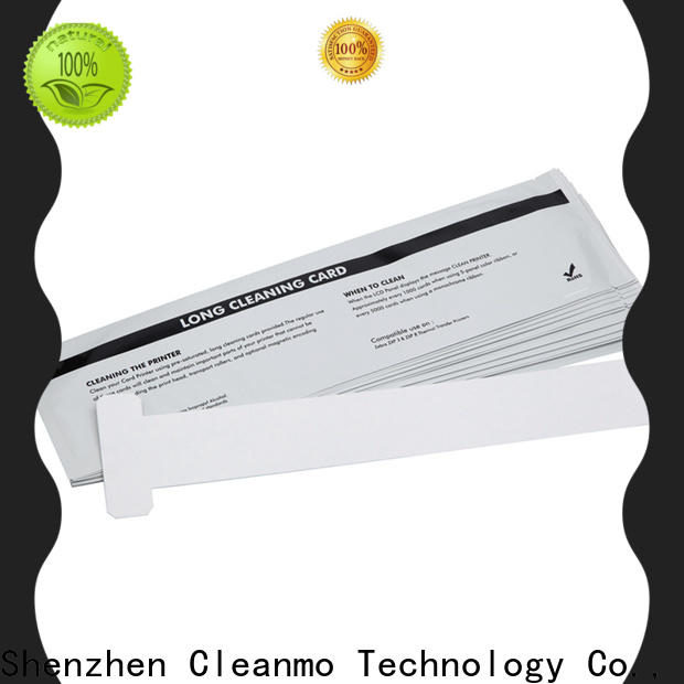disposable zebra printer cleaning pvc manufacturer for Zebra P120i printer