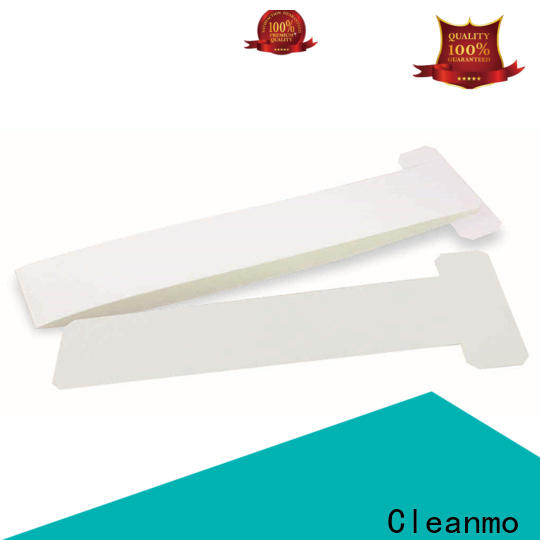 Cleanmo Aluminum foil packing zebra printhead cleaning factory for Zebra P120i printer