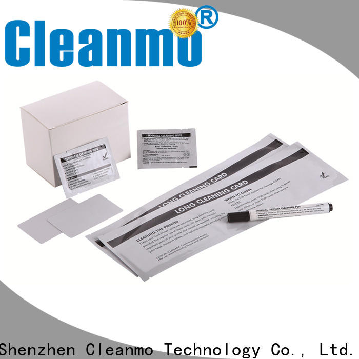 Cleanmo High and LowTack Double Coated Tape evolis cleaning kits wholesale for Evolis printer