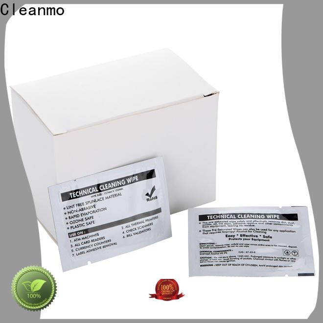Cleanmo high quality laser printer cleaning kit manufacturer for Evolis printer