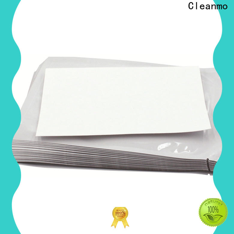 Cleanmo quick printer cleaning supplies supplier for ID card printers