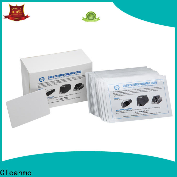 Cleanmo PP deep cleaning printer factory price for Fargo card printers