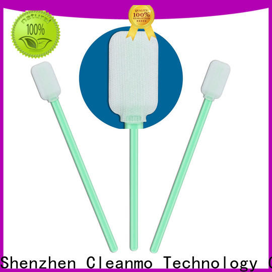 good quality dacron polyester swabs polypropylene handle manufacturer for printers