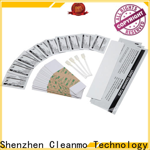 Cleanmo PVC fargo cleaning kit wholesale for Fargo card printers