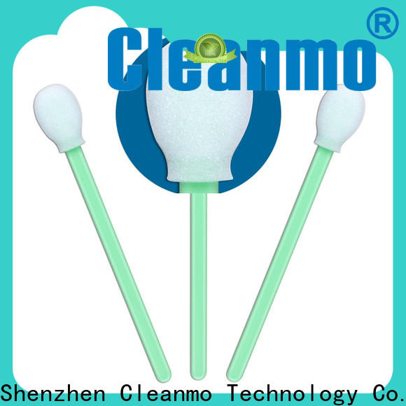 Cleanmo Bulk purchase OEM industrial foam swabs wholesale for Micro-mechanical cleaning