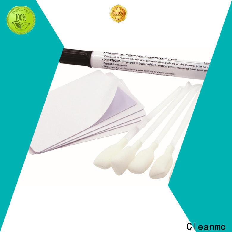Cleanmo PVC Nisca cleaning cards supplier for PR5360LE TeamNisca ID Card Printers