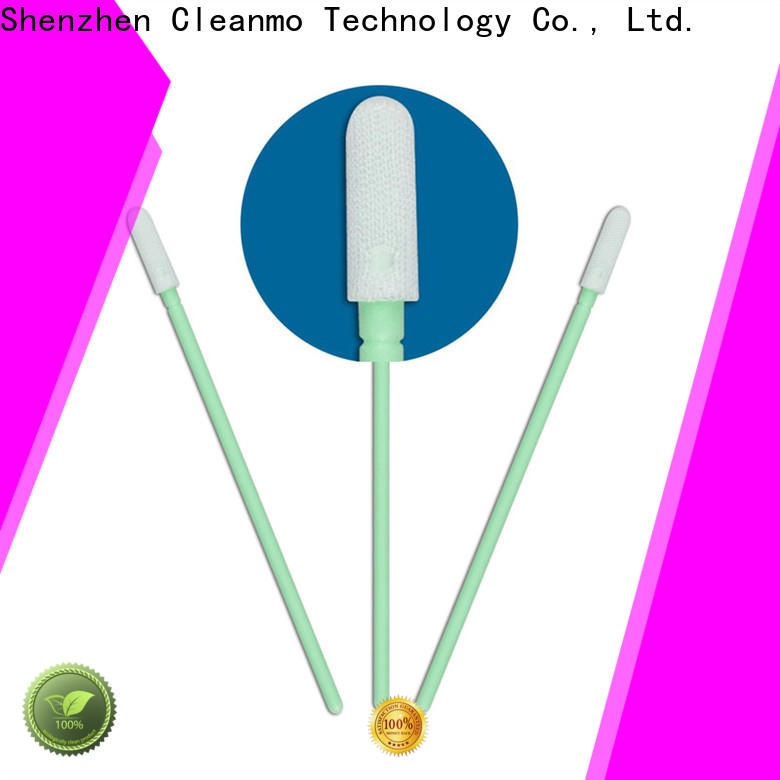 Cleanmo high quality micro cotton swabs manufacturer for Micro-mechanical cleaning