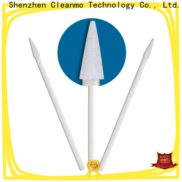 Cleanmo cost-effective large head cotton swabs manufacturer for excess materials cleaning