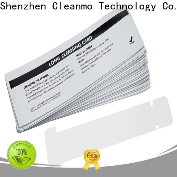 Bulk buy ODM zebra printer cleaning cards T shape factory for ID card printers
