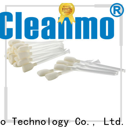 Cleanmo Non abrasive isopropyl alcohol Snap swabs supplier for computer keyboards