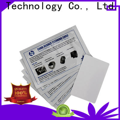 Bulk buy custom datacard cleaning kit high tack pressure sensitive adhesive manufacturer for Magna Platinum