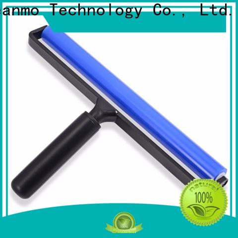 Cleanmo silicone with aluminum alloy washable lint roller manufacturer for computer screen