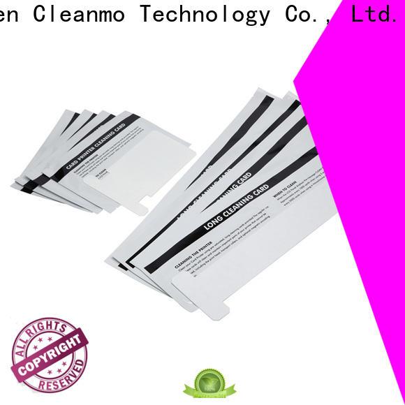 Cleanmo pvc zebra cleaning kit manufacturer for Zebra P120i printer
