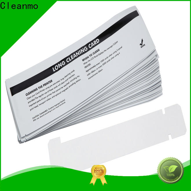 disposable zebra cleaning kit non woven supplier for ID card printers