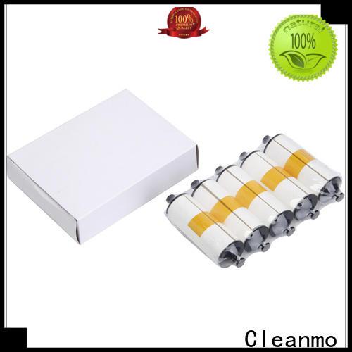Cleanmo Wholesale zebra printer cleaning cards manufacturer for Zebra P120i printer