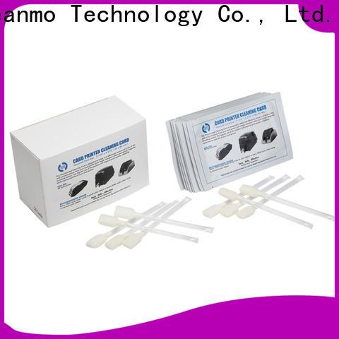 Cleanmo durable zebra printhead cleaning factory for Zebra P120i printer