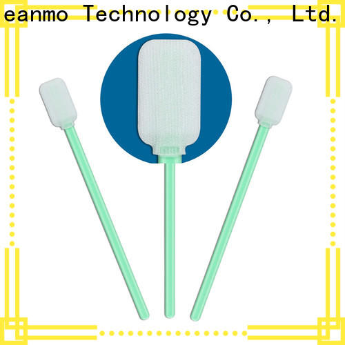 Cleanmo polypropylene handle esd swabs supplier for printers