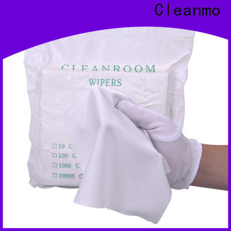 Cleanmo smooth microfiber lens wipes supplier for chamber cleaning
