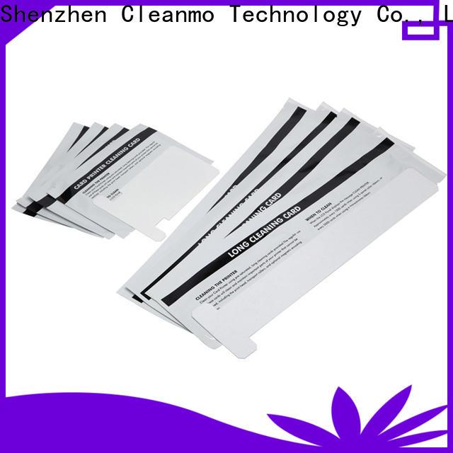 Wholesale OEM zebra printhead cleaning non woven supplier for Zebra P120i printer