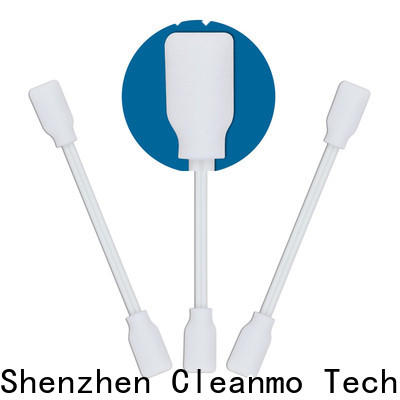 Cleanmo Custom disposable oral swabs walgreens wholesale for excess materials cleaning