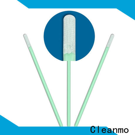 Cleanmo excellent chemical resistance microfiber cleaning swabs manufacturer for Micro-mechanical cleaning