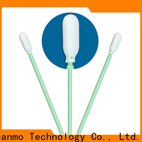affordable makeup cotton swabs ESD-safe Polypropylene handle factory price for excess materials cleaning