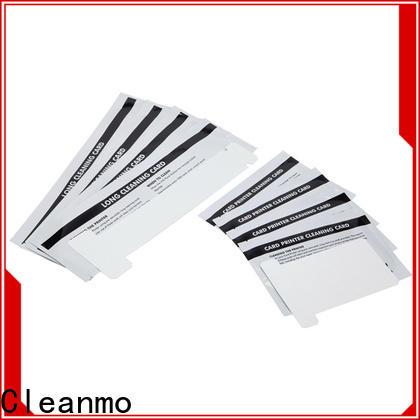 Cleanmo T shape zebra cleaners supplier for Zebra P120i printer