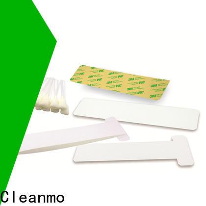 Cleanmo blending spunlace zebra printer cleaning cards manufacturer for Zebra P120i printer