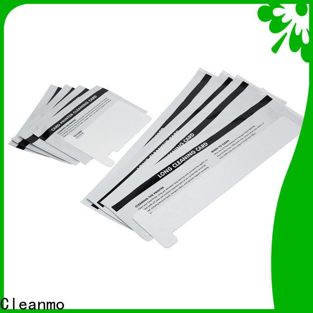 Bulk purchase best zebra printer cleaning cards blending spunlace factory for ID card printers