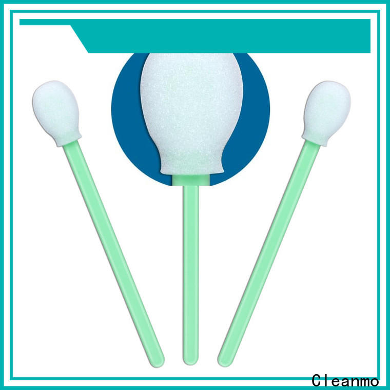 Cleanmo Bulk buy high quality cotton swab stick factory price for excess materials cleaning