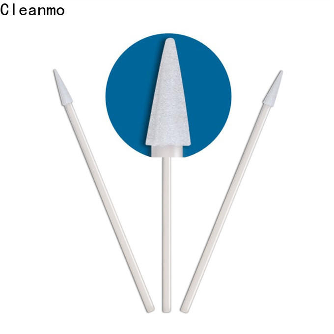 ODM extra long cotton swabs thermal bouded wholesale for excess materials cleaning