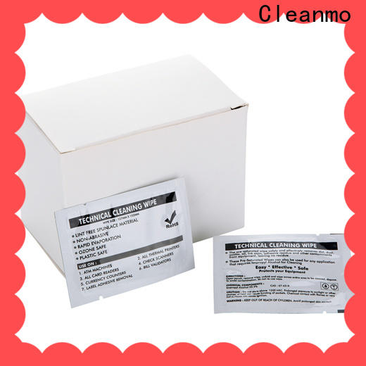 Cleanmo cost-effective evolis cleaning kits supplier for Evolis printer