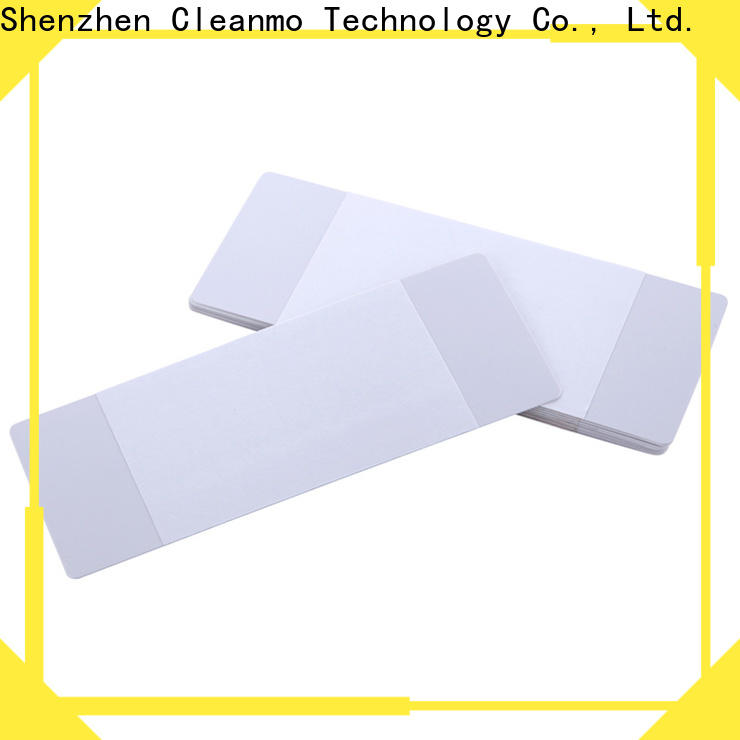 Cleanmo quick printer cleaning supplies manufacturer for Evolis printer