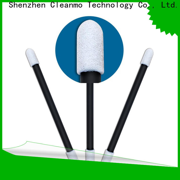 Cleanmo Custom high quality foam gun cleaning swabs wholesale for general purpose cleaning