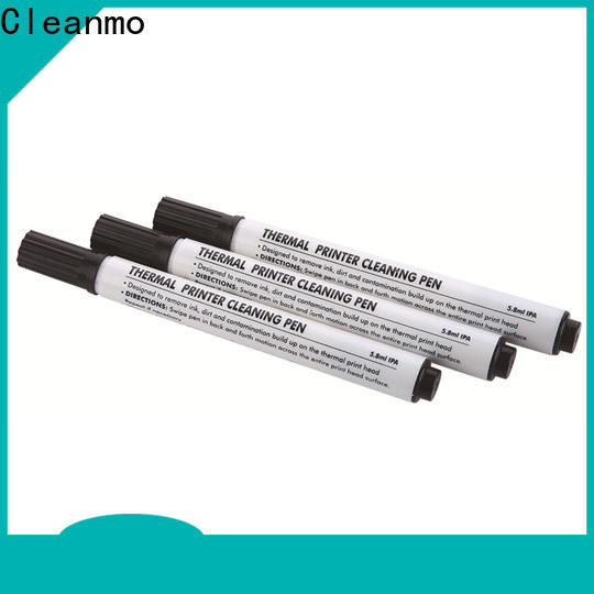 Cleanmo Hot-press compound evolis cleaning kits wholesale for Cleaning Printhead
