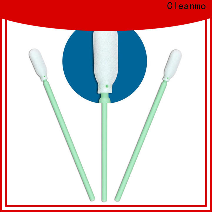 Bulk purchase cleanroom swabs small ropund head supplier for Micro-mechanical cleaning