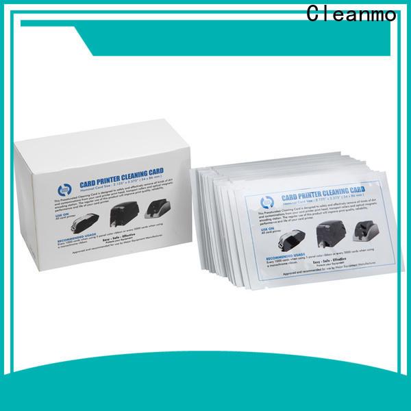 Cleanmo T shape zebra cleaners wholesale for Zebra P120i printer
